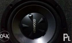 Kenwood subwoofer Almost new No issue With box Fresh