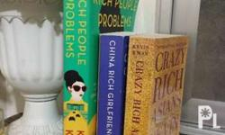 3 best Selling novel of Kevin Kwan Crazy Rich Asians