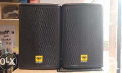 "Passive 8"" Karaoke Speakers 250 Watts Impedance 6 ohms"