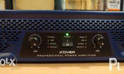 Kevler TX-400 Professional Power Amplifier with Crossover for Sale