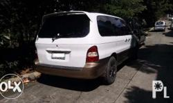 FOR SALE KIA CARNIVAL 2001 NO TO SWAP P 180,000.00