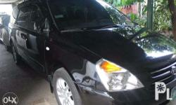 For sale kia carnival a/t 2009 for only 670k running in