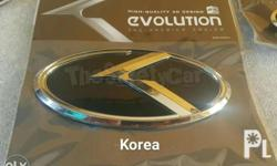 K Emblems Now Available For Picanto, Rio, Forte China