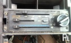 KIA PRIDE LX PARTS CLIMATE CONTROL / AIR CON SWITCH