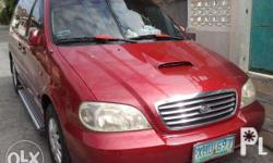 kia sedona 2004 will delete ad once sold excellent