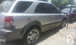 "Sorento 4x4 gas 3.5 v6 limitted edition with 20"" rims"