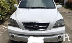Kia Sorento 2005 model Local unit from Kia CDO 5 speed