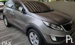 Kia Sportage 2013 A/T Gas 1st Owner, Lady-driven