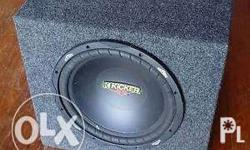 "Kicker ES 15"" Subwoofer In good condition Can test upon"