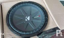 Kicker CompR - not the entry level CVR 500rms 12inches