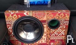 Kicker with Amplifier and Car audio capacitor -Kicker