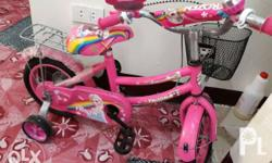 Frozen Kid's Bike used for 3 months only In very good