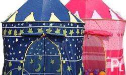 PRE-ORDER... - Pink and blue castle tent creates a