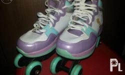 Roller skates convertible to Roller blades for little