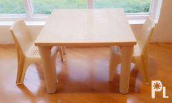 "24"" Kiddie Table and Chair with arm or no arm Sold"