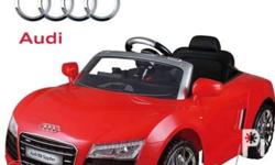Kids Audi R8 Spyder Ride On Car Remote Control