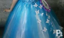 Used kids ball gown fits 7-8 yrs old (used only once)