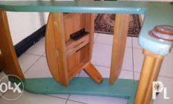 Childrens wooden chair. Can also be use by adult from