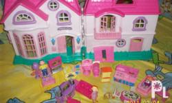 Deskripsiyon doll house 1000 mall price(1200),twin