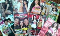 Selling my collection of rare kim chiu magazines All in