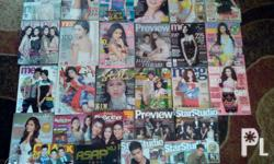 im selling my kim chiu magazines for only 40php each my