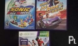 Selling these two Kinect Games for Xbox 360 NTSC