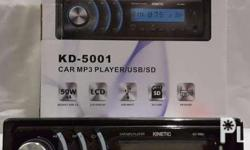 Brand New Kinetic KD-5001 Full detachable Front Panel