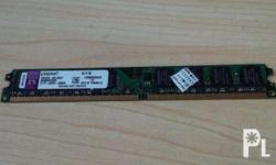 Kingston 2GB DDR2 800 mhz Memory Burn in tested using