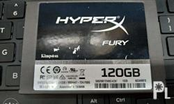 Kingston HyperX Fury 120gb SSD In good condition