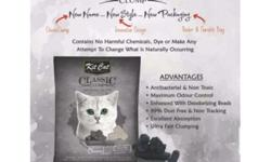 KitCat Litter Sand Available Scent �Baby Powder-