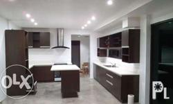 -Elegant kitchen and cabinets installation suits to