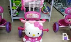 Kitty bike wcover pink only