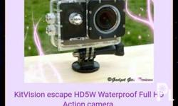 Kitvision escape waterproof camera brand new call 0917