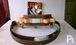 Features: *Klein-Kord�® belt pad with two pocket tabs.