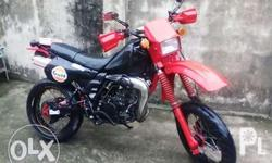 kmx 125 with complete papers and with motard
