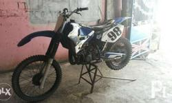 Kmx modified motor. Body YZ yamaha Engine kmx