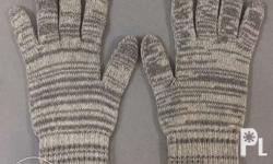 Knitted Working Gloves. Knitted Colored Gloves 650