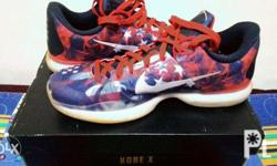 Kobe X independence day Size 10 Condition: 9.9/10 used