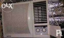 Selling my Kolin Aircon 2HP. Bought just last year for