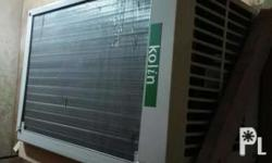 Kolin window type aircondition 8,500 pesos Good as new