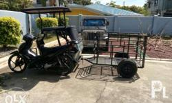 Kolong kolong can be pulled by tricycle. Seldom used