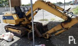 Komatsu pc20-6 2700+ working hours With dozer Open