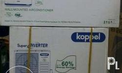 Brand New & factory sealed units: Koppel Aircon wall
