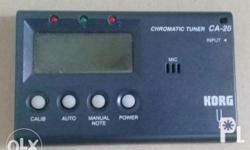 Korg chromatic tuner model ca-20 Good condition, comes