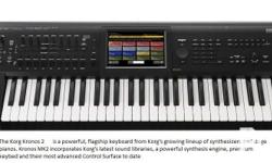 The Korg Kronos is the flagship keyboard of Korg's