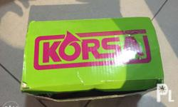 Korsa electromagnetic horns Not yet used 410Hz low tone