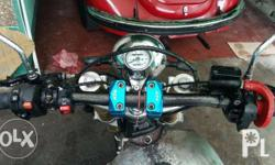 Hi, Good Day! Selling my newly built KR150 rusi
