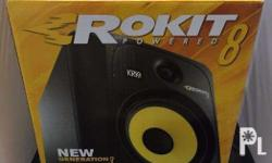 KRK RP8 G3 Rokit G3 Powered 2-Way Active Studio
