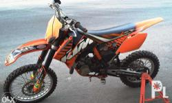 Price lowered from 165,000 for quick sale! KTM 2010 SX