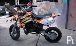 Description Make: KTM Model: KTM 50CC Year: 2007